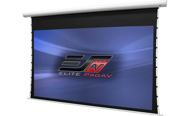 Elite Screens ProAV Angled left