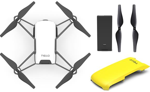 DJI Tello Colorful Bundle Front