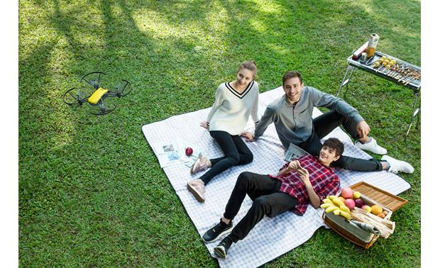 DJI Tello Colorful Bundle Take awesome aerial selfies with the DJI Tello (picnic not included)