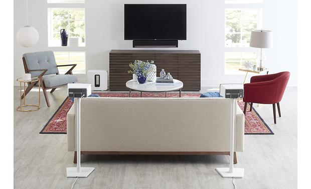 Sanus WSS22 Perfect as part of a Sonos surround system (speakers not included)