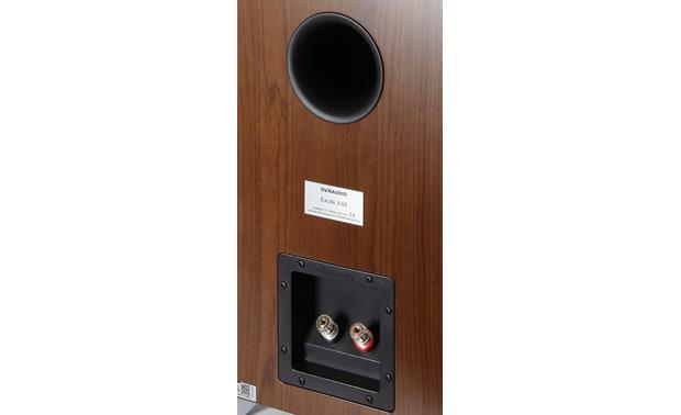 Dynaudio Excite X44 Back (shown in walnut)