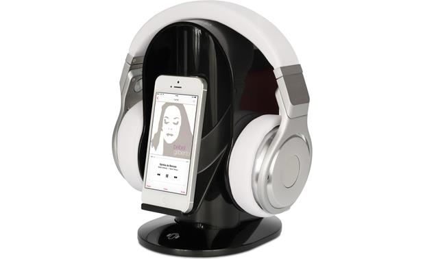 HeadsUp Base Stand Display your headphones and smartphone (not included)