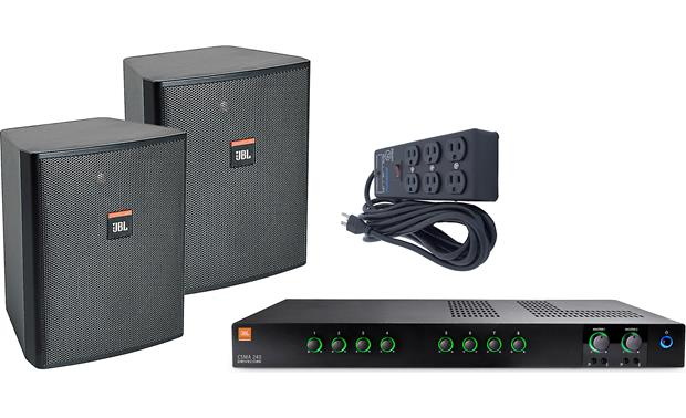 JBL Fast Casual Sound System Bundle Front