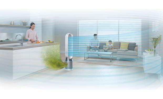 Dyson Pure Cool™ TP04 Purifies your whole room