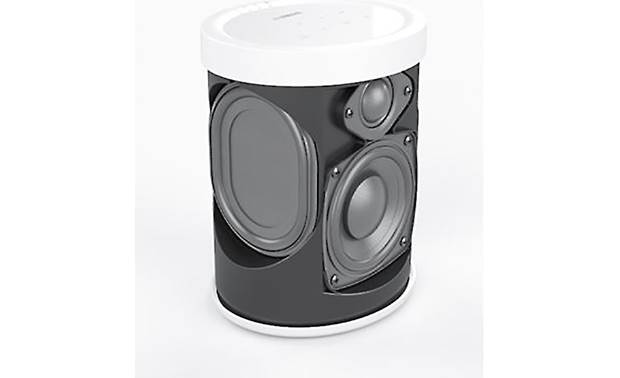 Yamaha MusicCast 20 (WX-021) Bundle Side-mounted passive radiators reinforce the bass
