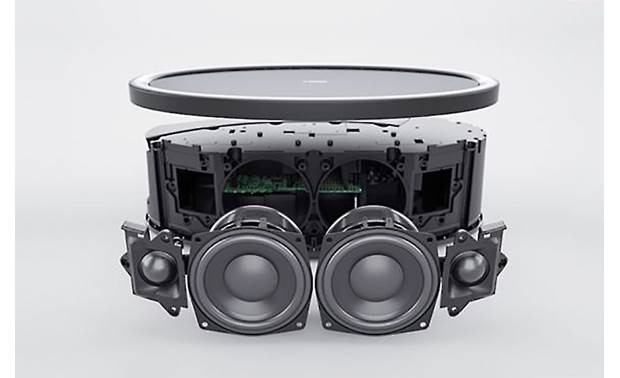 Yamaha MusicCast 50 (WX-051) Bundle Black - exploded view