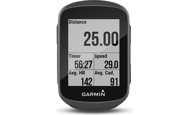 Garmin Edge 130 Speed and Cadence Bundle Easy-to-read display