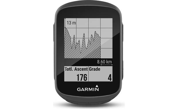 Garmin Edge 130 Speed and Cadence Bundle Track elevation gain and loss