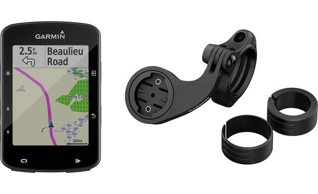 Garmin Edge 520 Mountain Bike Bundle Garmin's mountain bike mount included.