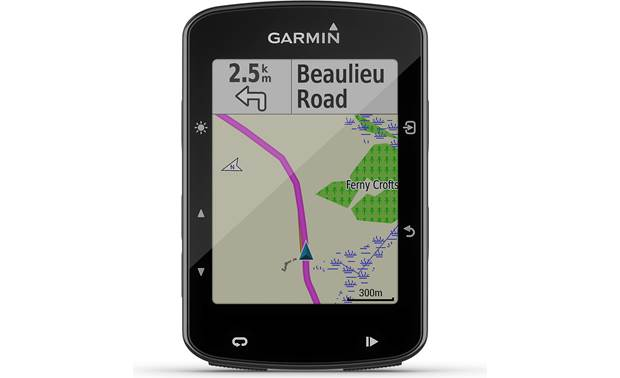 Garmin Edge® 520 Plus The Edge 520 Plus offers useful navigation features.