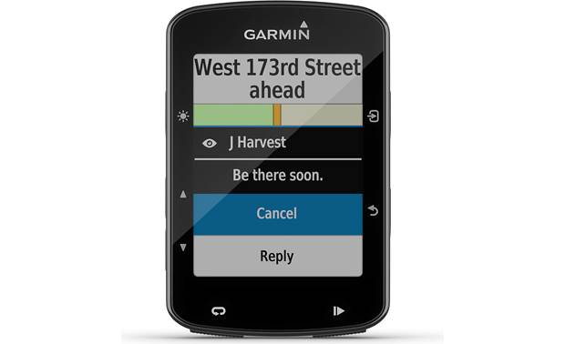Garmin Edge® 520 Plus Smart Notifications.