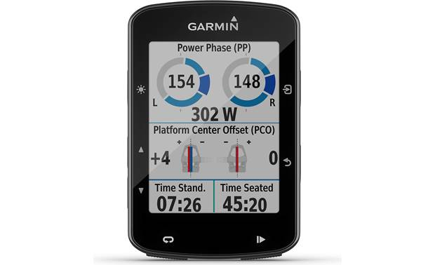 Garmin Edge® 520 Plus Compatible with Garmin Vector pedals.