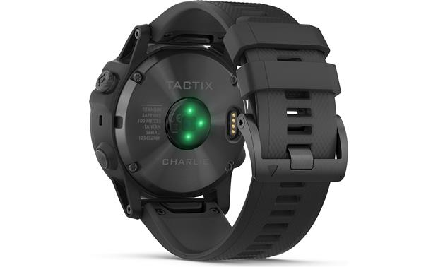 Garmin Tactix Charlie Wrist-based heart rate monitoring.