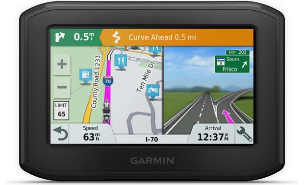 Garmin zūmo® 396 LMT-S The Garmin zumo 396 LMT-S warns you of potentially dangerous road conditions ahead