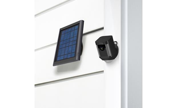Ring Solar Panel Toolkit and mounting bracket included for easy setup (Ring Spotlight Cam sold separately)