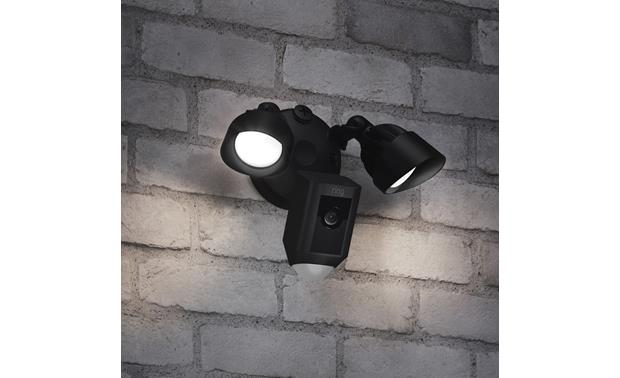 Ring Floodlight Cam Optimal mounting height for most human motion detection is 9 feet