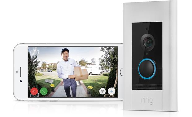 Ring Video Doorbell Elite Get notified when someone approaches your door