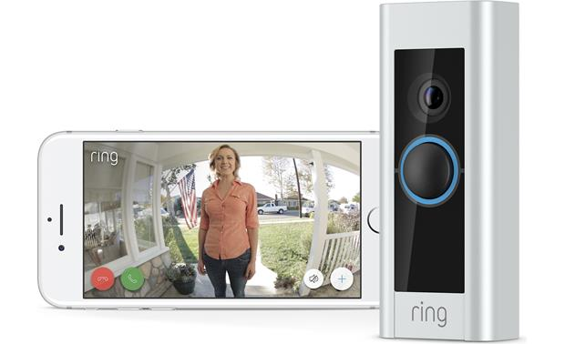 Ring Video Doorbell Pro Never miss a visit