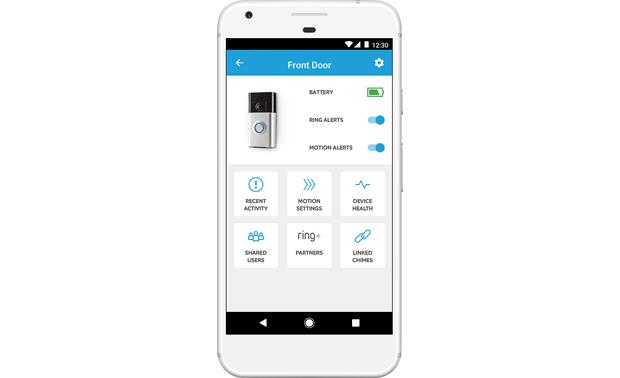 Ring Video Doorbell 2 Choose what kind of alerts you want to get