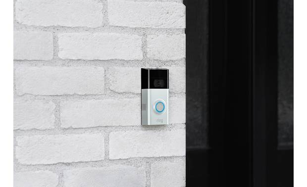 Ring Video Doorbell 2 Optimal mounting height is 4 feet