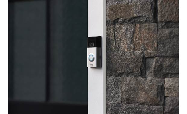 Ring Video Doorbell 2 Narrow enough to fit almost anywhere