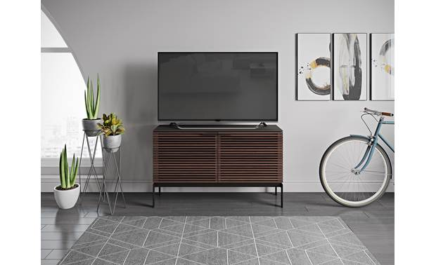 BDI Corridor SV 7128 Chocolate Stained Walnut (TV not included)