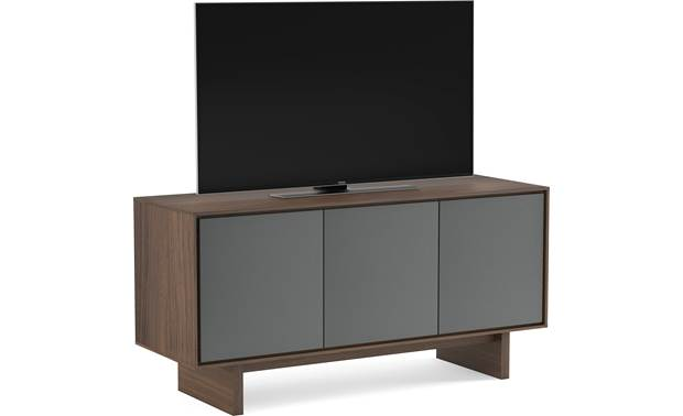 BDI Octave™ 8377GFL Toasted Walnut - left front (TV not included)