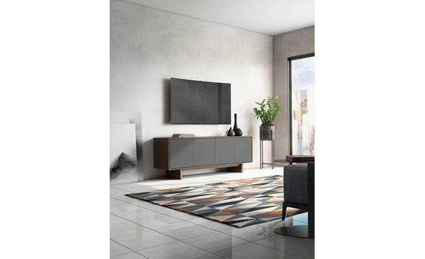 BDI Octave™ 8379GFL Toasted Walnut - fits with most decors (TV not included)