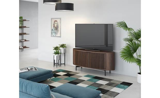 BDI Olis™ 9650 Sleek styling fits with most decors (TV not included)