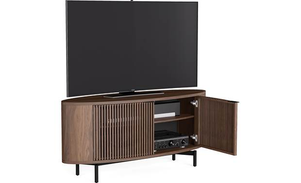 BDI Olis™ 9650 Left front with door open (TV and components not included)