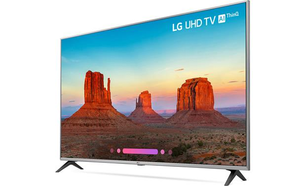 LG 55UK7700PUD Angled left