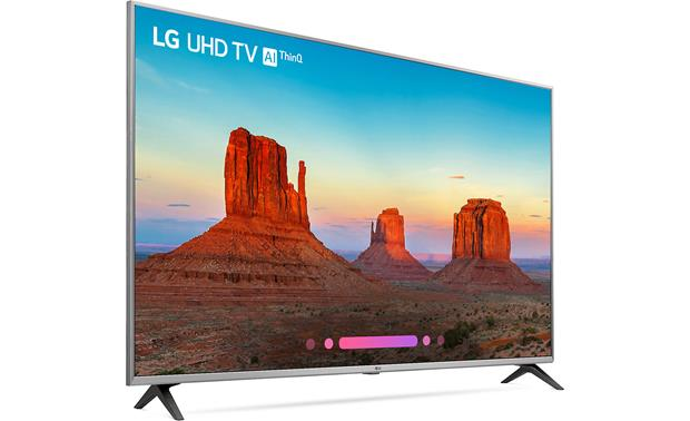 LG 55UK7700PUD Angled right