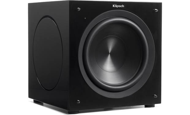 Klipsch C Series C-310ASWi Angled view with grille removed