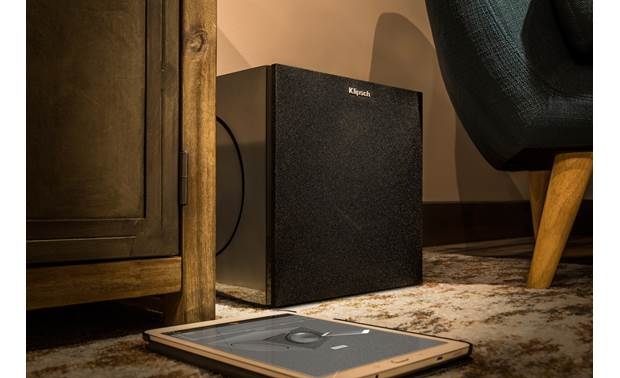 Klipsch C Series C-310ASWi Shown in room with grille in place