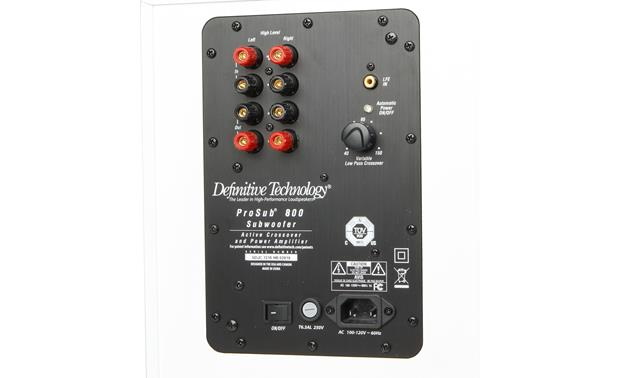 Definitive Technology ProSub 800 Back