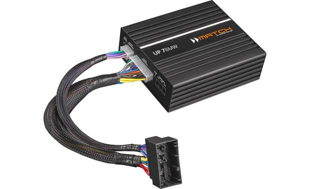 MATCH UP 7BMW 7-channel car amplifier and DSP