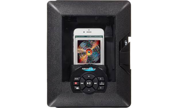 Aquatic AV AQ-DM-6BT-G Get some music and protect your phone out by the hot tub