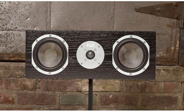 KLH Story Shown with grille removed (stand not included)