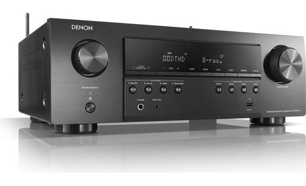 Denon AVR-S640H Angled front view