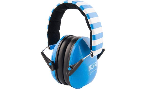 Alpine Hearing Protection Muffy Padded, adjustable headband and layer of noise-reducing foam