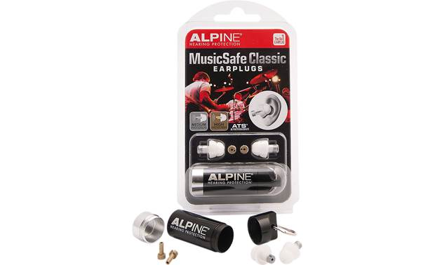 Alpine Hearing Protection MusicSafe Classic Front