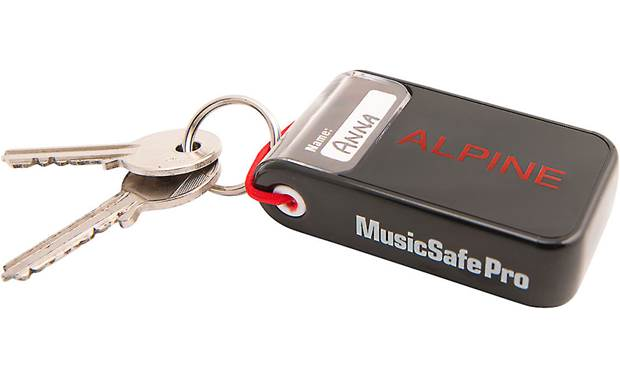 Alpine Hearing Protection MusicSafe Pro Zippered keychain pouch included