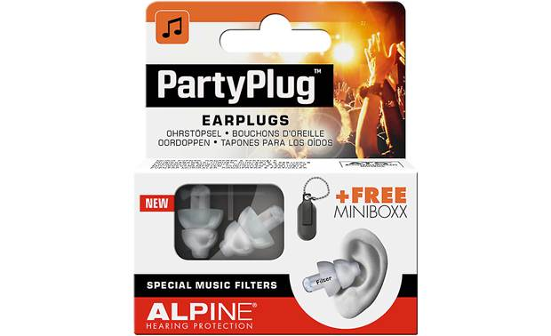 Alpine Hearing Protection Party Plug Front