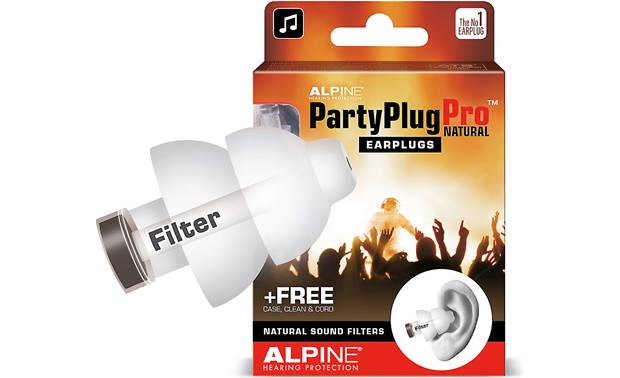 Alpine Hearing Protection Party Plug Pro Natural Front
