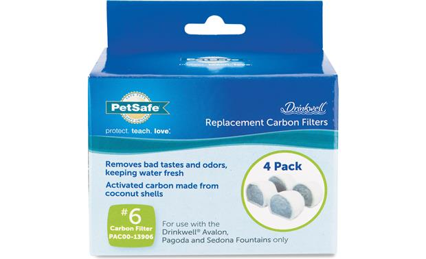 PetSafe Drinkwell® Fountain Replacement Filters Four filters to keep your pet's water fresh