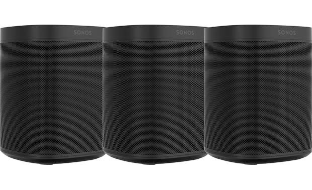 Sonos One (3-pack) 3 Black