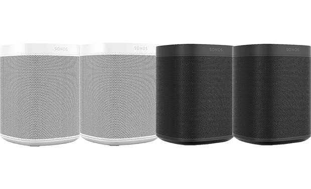 Sonos One (4-pack) 2 White 2 Black