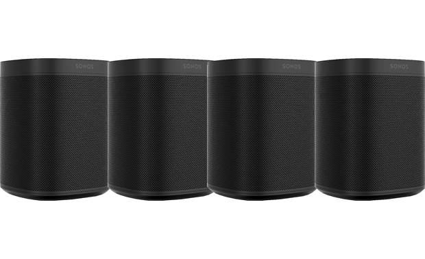 Sonos One (4-pack) 4 Black