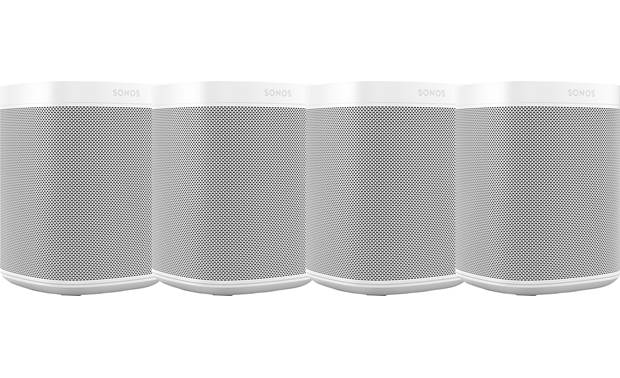 Sonos One (4-pack) 4 White