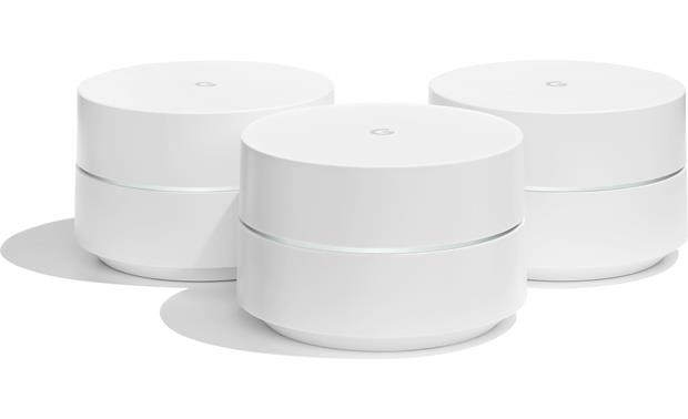 Google Wifi 3-Pack Front